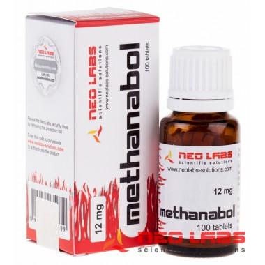 Methanabol Метанабол 12 мг, 100 таблеток, Neo Labs