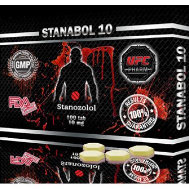STANABOL 10 Станабол 10 мг, 100 таблеток, UFC PHARM
