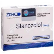 Stanozolol Станозолол оральный 20 мг, 50 таблеток, ZPHC