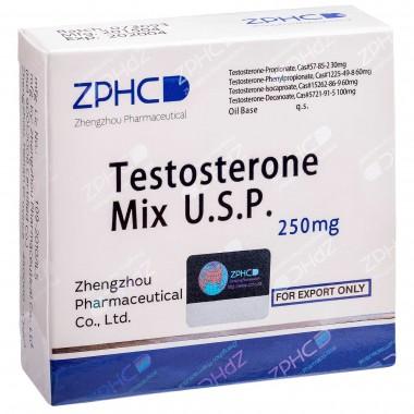 Testosterone Mix Тестостерон Микс 250 мг, 10 ампул, ZPHC